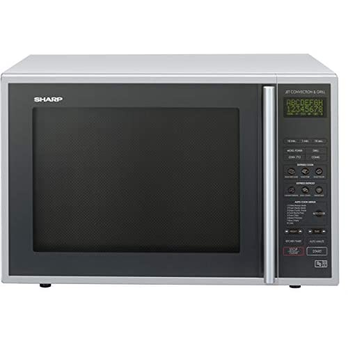 414ae VMzcL. SS500  - Sharp R959SLMAA Combination Microwave Oven, 40 Litre capacity, 900W, Silver