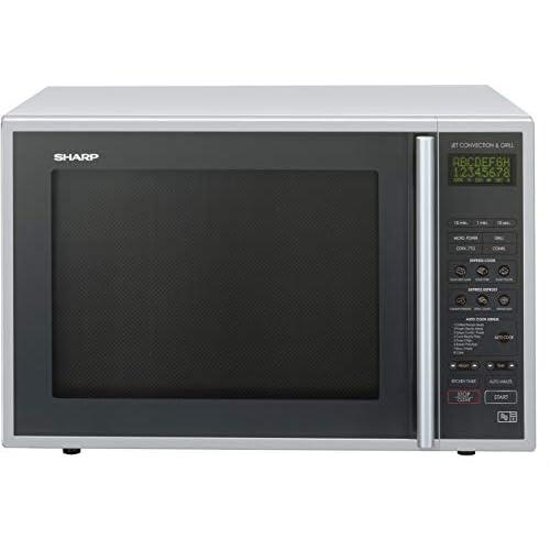 Sharp R959SLMAA Combination Microwave Oven, 40 Litre capacity, 900W, Silver