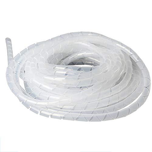 MHUI Manguitos De Envoltura De Cable En Espiral De Tubo Ordenado por...