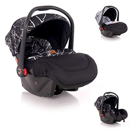 Lorelli silla de coche bebés Plutón grupo 0+ (0-13 kg) cubierta para los pies, color:negro