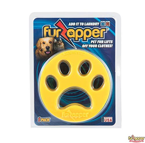 1 PK FurZapper Pet hair remover for laundry