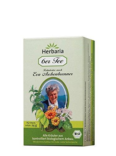 Herbaria Bio 6er Tee nach Eva Aschenbrenner, 15 Aufgussbeutel (12 x 15 Btl)