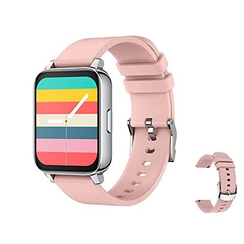 ZRY P36 Smart Watch Men IP67 Impermeable Monitor De Ritmo Cardíaco Monitor Fitness Tracker Presión Arterial Smartwatch Vs P80 B57 P68 S226 T80 para Android iOS,D