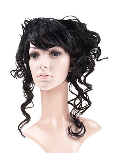 Perruque nobles Lina femmes noires haute coiffure Carnaval baroque