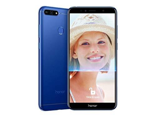 "Huawei Honor 7A - Smartphone Dual SIM de 5.7"" (4G, Octa-Core Snapdragon 430, RAM de 2 GB, Memoria de 16 GB, cámara de 13 MP, Android Oreo) Color Azul"
