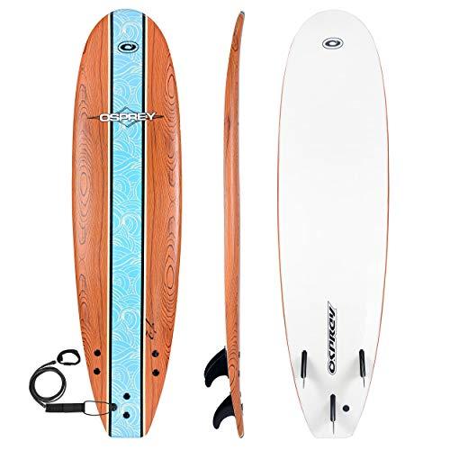 Osprey Foamie–Tabla de Surf, Unisex, Foamie, Azul, 7.2-Inch