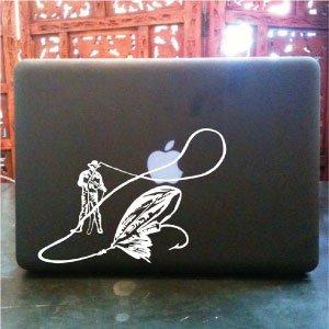 Fly fishing Abel hardy charlton t&t reel vinyl decal