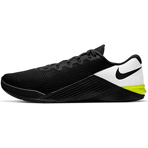 Nike Unisex Adults Metcon 5 Training Shoe Running, Black/White-Black-White, 14 UK