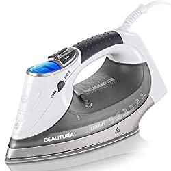 Cloth Steam Iron with Digital LCD Screen