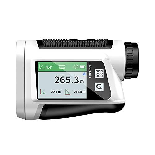 Medición de golf Instrumento de medición continua de 1500 metros con pantalla a color y transmisión de voz La vibración del bloqueo del mástil puede verificar el estado y el almacenamiento de datos