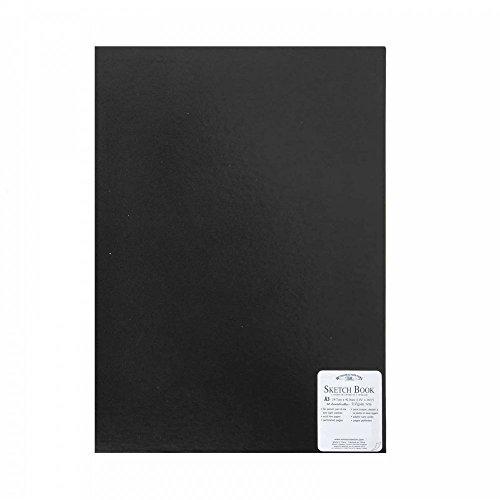 Winsor & Newton Skizzenbuch, Papier, A3-48 Blatt, DIN A3-170g/m², gebunden