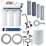 Hidro Water Equipo de Ósmosis Inversa Domestica iOSMO | Ósmosis Inversa 5 Etapas | Filtros y Membrana Universales | Diseño Exclusivo (Fabricante S.L)