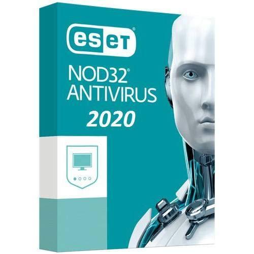 ESET NOD32 Antivirus 2020 | 1 Gerät | 1 Jahr | Windows (10, 8, 7 und Vista), macOS und Linux | Aktivierungscode per E-Mail