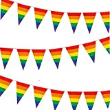 Bandera LGTB Grande Bandera triangular, Gay Pride Bandera, Bandera del Arco Iris Arcoiris LGBT Flag , Arcoiris Orgullo Gay Festival Celebración Diversidad