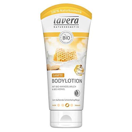 Lavera Bodylotion sanft mit Bio-Mandelmilch & Bio-Honig 3er Vorteilspack (3 x 200ml)