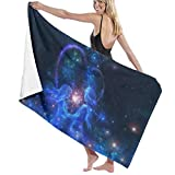 Ewtretr Toalla de Playa Galaxy Lover Heart Microfiber Beach Towels Quick Dry Super Absorbent Bathing SPA Pool Towels for Swimming & Outdoor, 31'* 51