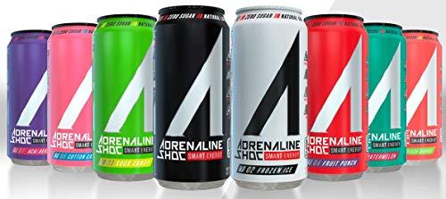 Adrenaline Shoc Smart Energy - Variety Pack - 16 fl.oz (Pack of 16)