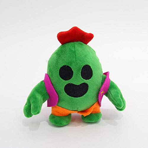 N/B Ypzz Juegos para Móvil Wild Brawl Stars Around Plush Cactus Figurine Anime Gift Toy