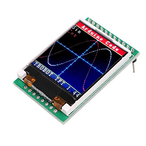 MakerHawk TFT LCD Screen 1.44 inches TFT LCD Module, 128x128 SPI, Picture Graphic Color Screen, 51 STM32 Arduino Routines to Replace 5110 OLED 5V Arduino
