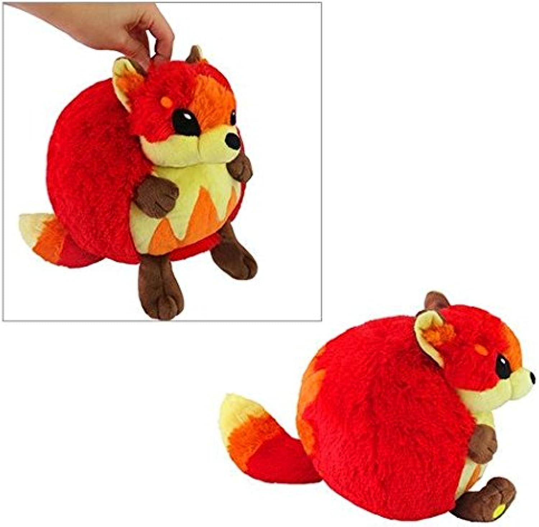 Flame Fox Mini Squishable 7 inch  Stuffed Animal by Squishable (102239)