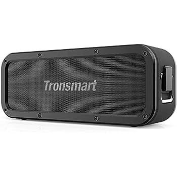 Tronsmart Bluetooth5.0 スピーカー 防水 40W高出力 大音量 重低音 IPX7防水 / EQ搭載/NFC操作/TWS対応 / 15時間連続再生 / 内蔵マイク/ブルートゥース スピーカー ワイヤレス ポータブル アウトドア お風呂 iPhone & Android対応