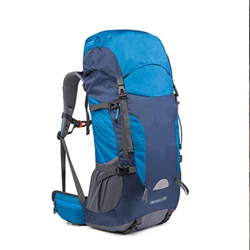 Mochilas de senderismo Viajes 55L impermeabilizan ir de excursión de los hombres trekking mochilas for deporte de las mujeres del bolso del alpinismo escalada al aire libre Bolsas caminata Paquete