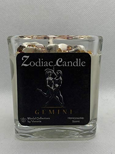 Blissful Collections by Victoria Zodiac Candle - Gemini