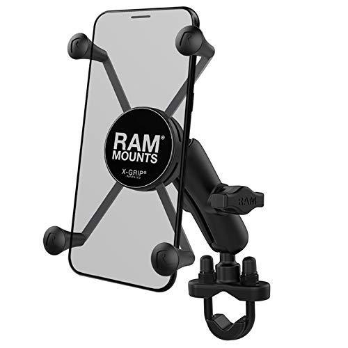 RAM MOUNTS RAM-B-149Z-UN10U RAM X-Grip Large Phone Mount with Handlebar U-Bolt Base