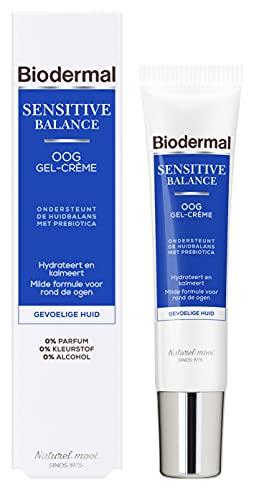 Biodermal Sensitive Balance Oog Gel-Crème – Oogcrème – voor de Gevoelige Huid – 15 ml