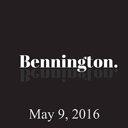 Bennington, Dave Hill, May 9, 2016 audiobook cover art
