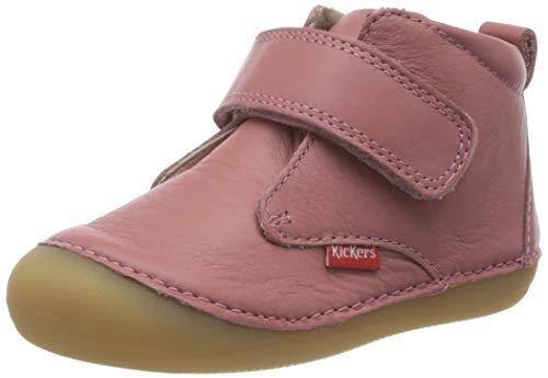 Kickers Jungen Unisex Kinder Sabio Stiefel, Pink (Rose Antique Perm 132), 20 EU