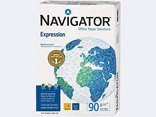 Inkjet-Papier NAVIGATOR Expression, A4, 90 g/qm, Weißgrad 169 CIE, hochweiß