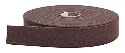 PEARL 1' Centerfold Quilt Binding, Brushed, 25 yd, Chocolate