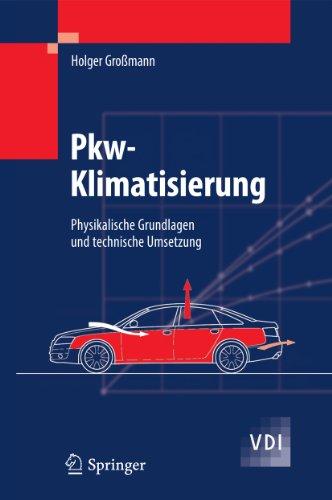 Pkw-Klimatisierung: Physikalische Grundlagen und technische Umsetzung (VDI-Buch)