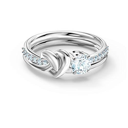 SWAROVSKI Lifelong Heart Ring 5 UK White