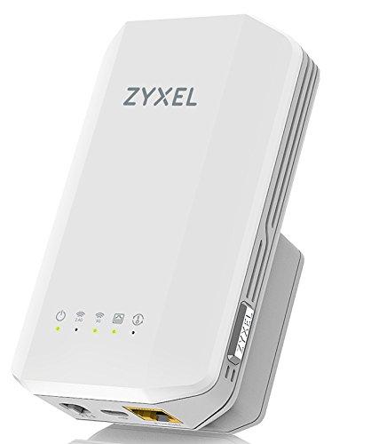Zyxel AC1300 MU-MIMO Dual-Band WLAN-Repeater – für Wandsteckdosen [WRE6606]
