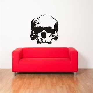 ShirtInStyle Pegatina Adhesivo Para Pared Láminas adhesivas Cráneo De Calabera Calavera - azul real, 45 cm x 45 cm
