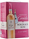 Mademoiselle COMEDIE - Bordeaux rosé - BAG IN BOX 3 litres