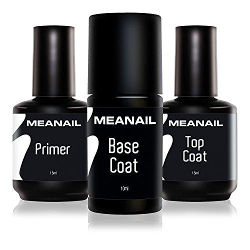 MEANAIL PARIS - TOP COAT - Überlack - für semipermanente Maniküre & Pediküre höchster Qualität...