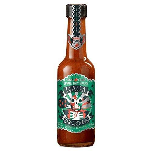 Mic's Chilli - Scharfe Soße - Damn Hot Sauce Naga Knockdown - 600.000 Scoville