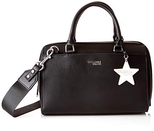 Trussardi Jeans T-Easy Bauletto Charm Star Logo, Borsa a mano Donna,...