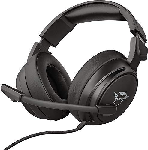 Trust Cascos Gaming GXT 433 Pylo Auriculares Gamer con Micrófono Plegable, Unidades...