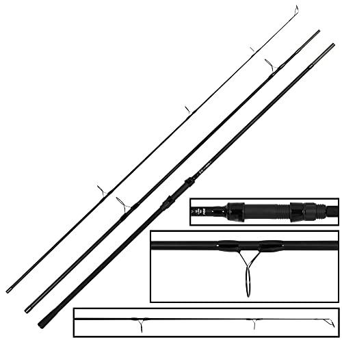 FOX EOS Pro Rod 12ft 3lb - Karpfenrute zum Karpfenfischen, Angelrute zum Angeln auf Karpfen, Grundrute, Rute zum Boilieangeln