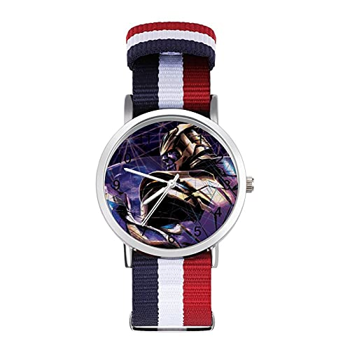 Thanos - Reloj de ocio para adultos, moderno, hermoso y personalizado, de aleación, casual, deportivo, para hombres y mujeres