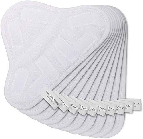 Kingbra OuyFilters - Almohadillas limpiadoras de Microfibra Lavables para H2O H20 X5 (9.8 x 7 Pulgadas)