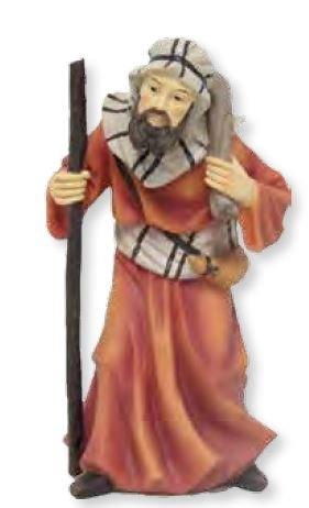 Krippenfiguren Kameltreiber, geeignet für 15cm Figuren, handbemalen