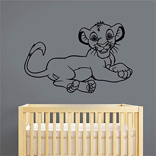 Simba Decal Sticker Roi Lion Décorations Pour La Maison Enfants Bébé Garçons Filles Chambre Nursery Playroom