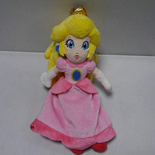 Juegos Super Mario Bros.Fiesta 8 Serie Peluche Princesa Peach 15Cm, Peluche Niños
