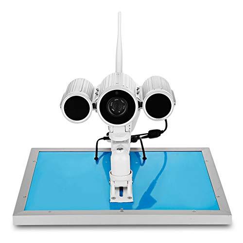 Wanscam HW0029-6 1080P 4G de energía solar IP cámara Starlight visión nocturna – enchufe británico