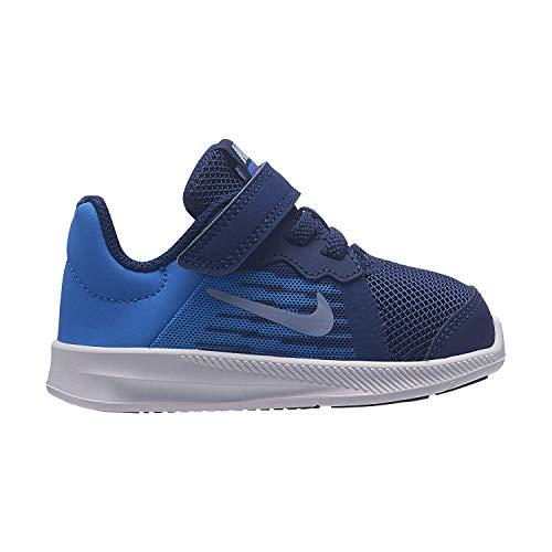 Nike Boy's Downshifter 8 (TD) Toddler Shoe Blue Void/Indigo Fog/Photo Blue Size 5 M US